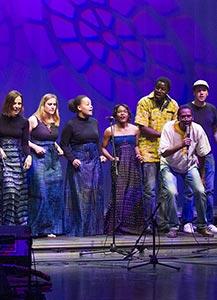 Koncert: S Sankofo v Afriko
