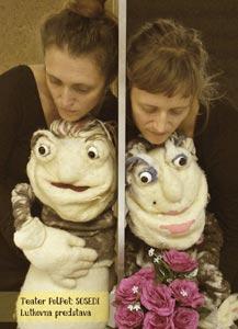 Teater PolPet: Sosedi, lutkovna predstava za mlade in velike